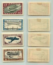Latvia 1933 SC CB21-CB24 mint . f4554