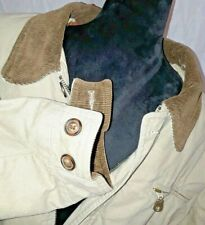 Wrangler Quilted Lining w Corduroy Collar & Cuffs, Chore, Western Coat Mens XL
