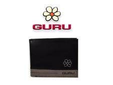 Portafoglio marca Guru in pelle nero