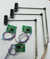 Set of 3 HO Traffic Signal w/Signal Flasher Board W/ resistors  USA SOLD/SHIPS