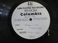 *TEST PRESSING* 33CX 1372 Schubert Rondeau Brilliant JOHANNA MARTZY Violin 2-LP