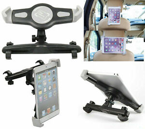 Universal Car Back Seat Headrest Mount Tablet Holder Cradle For iPad Samsung Tab