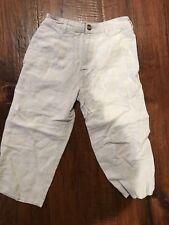 Talbots Kids Beige Linen Pants in Boys Size 3