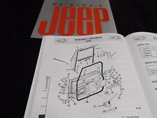 CJ door seals, Door Seal Kit for 1982-1995 for CJ/YJ