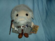 "Rare Gandalf Funko Lord of the Rings Plushie 7"" Doll New With Hang & Tush Tags"