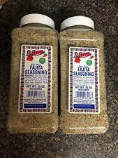 Bolner's Fiesta Fajita Seasoning, 30-Ounce Canister - 2 PACK - SAVE $$$