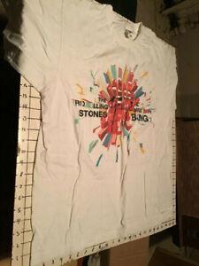 original vintage THE ROLLING STONES - A BIGGER BANG concert t-shirt XL