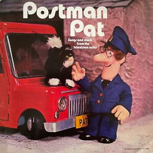 Ken Barrie - Postman Pat: Songs And Music From The TV Series (LP) (VG-/G+)