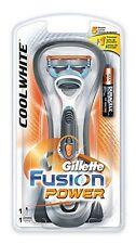 Gillette Fusion Power Maquinilla de Afeitar Blanco frío