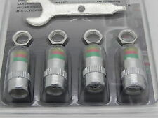 4 x Tire Pressure Safety Indicators Valve Caps for 28 - 35 psi / 1.9 - 2.4 bar