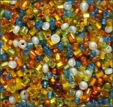 Vintage Venetian Murano Seed and Bugle Beads Mix (500)