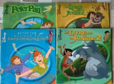 LOT DE 4 LIVRES DISNEY PETER PAN .....TBE