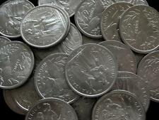 New Caledonia French Colony 2 Francs 1977 BU lot of 25 coins