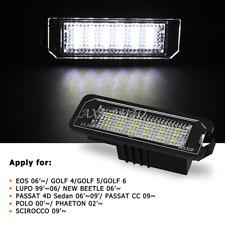 2x Canbus LED Number License Plate Light For VW GOLF MK 4 5 6 Passat B6 EOS