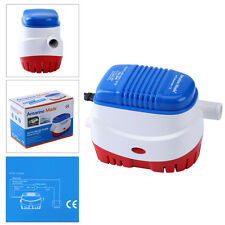 Automatic Submersible Boat Bilge Water Pump 12v 750gph Auto with Float Switch