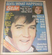 Star magazine September 6 1977  Elvis : What Happened   Priscilla  color photos