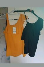 2 X LADIES SIZE 10 TOPS (bnwt)