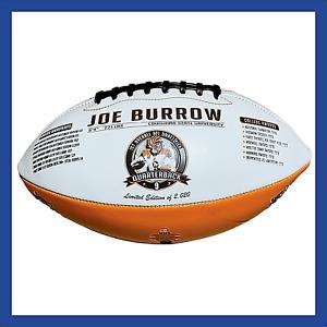 Joe Burrow Cincinnati Bengals Limited Edition Football 2020