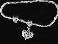 Aunt bracelet Special auntie jewelry Best Auntie present Aunt gift Aunt Bangle