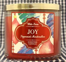 1 Bath & Body Works JOY Peppermint Marshmallow 3-Wick Scented 14.5 oz Candle