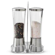 PAMPERED CHEF~Salt & Pepper Grinder Set & Stand~FREE SHIPPING!