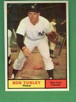 1961 TOPPS #40 BOB TURLEY NEW YORK YANKEES NRMT-MT CENTERED