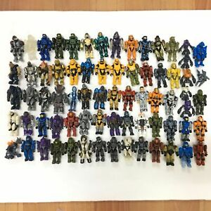 Multi Kinds MEGA BLOKS CONSTRUX HALO HEROES ELITE UNSC SPARTAN - Wholesale
