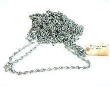 """50 Ft Single Jack Steel Zinc Weldless Chain 0.105"""" Type 2, Class 7, 12 Size"""