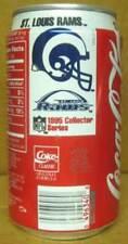 COCA-COLA, ST. LOUIS RAMS 1995 Coke Soda CAN Football, Atlanta GEORGIA, Grade 1+