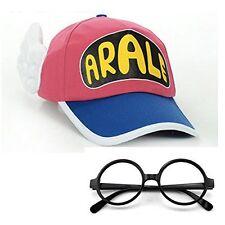 Dr. Slump Arale-chan style cap & glasses set costume accessories