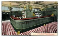 Early 1900s Indian Bar, Andrews Hotel, Minneapolis, MN Postcard