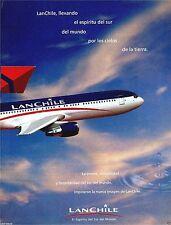 LAN CHILE BOEING 767-300 2 PAGE EL ESPIRTO DEL SUR,DEL MUNDO,POR LOS CIELOS AD