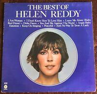 "HELEN REDDY,THE BEST OF,VINTAGE 1975 ALBUM,12"" LP 33,RECORD,EX VINYL,VG SLEEVE"