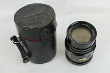 Vintage Norita Kogaku Japan Noritar F 160mm Lens 1:4 Camera Lens 4170069 w/ case