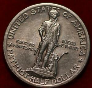 1925 Lexington Concord Commemmorative Half Dollar