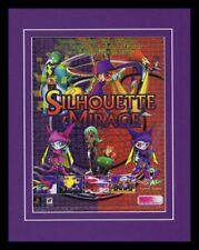 1998 Silhouette Mirage PS1 11x14 Framed ORIGINAL Vintage Advertisement