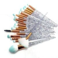 20pcs Diamond Makeup Brush Set Eye Brush Beauty Tools Powder shadow Cosmetics