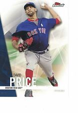 "2017 Topps Finest 5""x7"" #/49 David Price Boston Red Sox ONLINE EXCLUSIVE JUMBO"