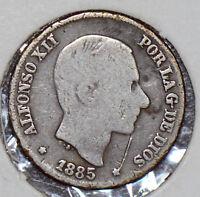 Philippines 1885 10 Centavos  190121 combine shipping