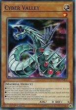YU-GI-OH CARD: CYBER VALLEY - LEDD-ENB06 - 1ST EDITION