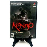 Kengo Sony PlayStation 2 PS2 No Manual Tested Buffed Very Good 2000 Crave