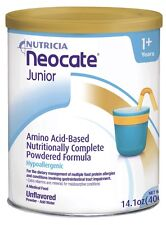 Neocate Junior formula 1 SEALED CASE (4 cans) unflavored Exp. May 2019!!