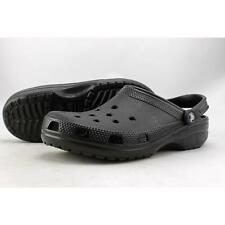 Crocs Classic Men US 10 Black Clogs Defect 2418