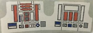 Vintage Star Wars - Replacement Sticker for R5-D4 (R5D4)