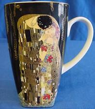 Goebel QUADRATO ART NOUVEAU TAZZA-Gustav Klimt-Il bacio (Der Kuss) - 4362