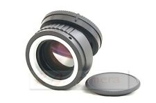 new M42 focal reducer speed booster adapter to Sony NEX 3 5 5N 6 7  FS700 FS100