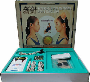 Ear Acupuncture Electronic Therapy, Low Frequency Therapy Diet. Pain Relief.TENS