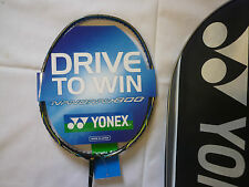 100% YONEX Nanoray 800 NR800 BADMINTON RACKET RACQUET+ String+ 3 YONEX Grips