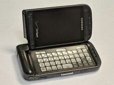 Samsung Alias 2 SCH-U750 Black Verizon Wireless Flip Cell Phone *Tested Working*