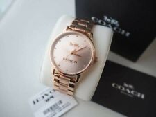 Coach 14502977 Grand Rose Gold Tone Bracelet Ladies Watch